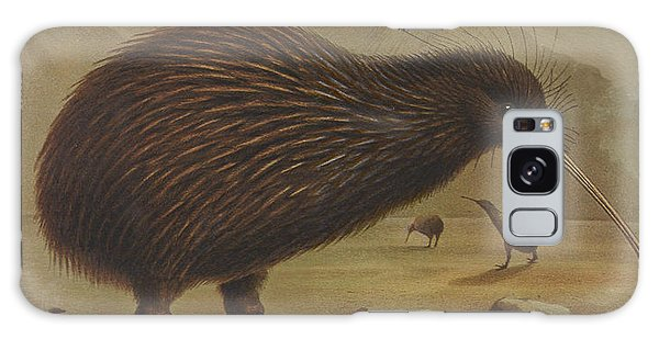 Brown Kiwi Galaxy Case by Rob Dreyer