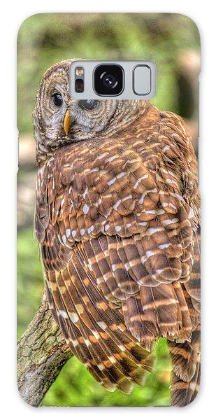 Brown Owl Galaxy Case