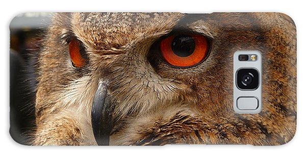 Brown Owl Galaxy Case by Vicki Spindler