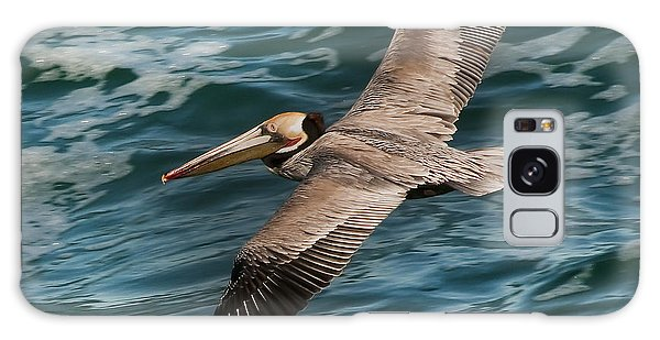 Brown Pelican Flying 1 Galaxy Case