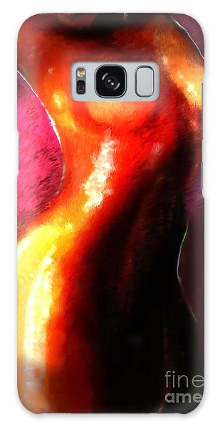 Brown Sugar Galaxy Case by Vannetta Ferguson