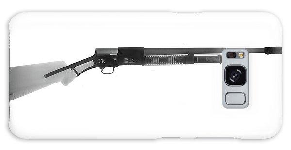 Calico M100 Galaxy Case - Browning Fn A5 Shotgun X-ray Photograph by Ray Gunz