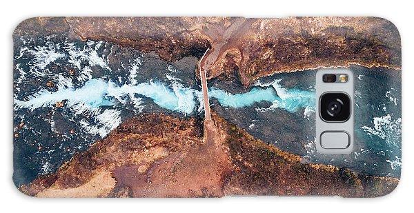 Iceland Galaxy S8 Case - Bruarfoss by Antonio Carrillo Lopez