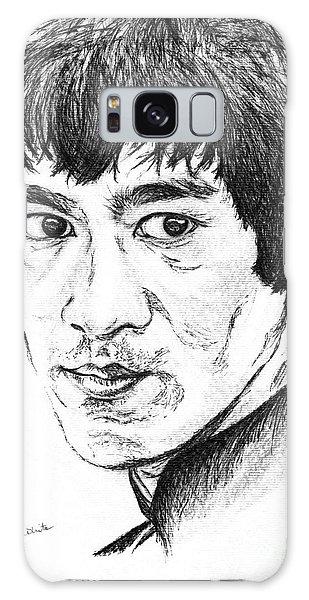 Bruce Lee Galaxy Case by Teresa White