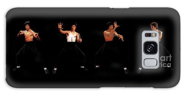 Bruce Lee Galaxy Case by Doc Braham