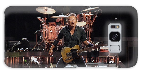 Bruce Springsteen In Concert Galaxy Case by Georgia Fowler