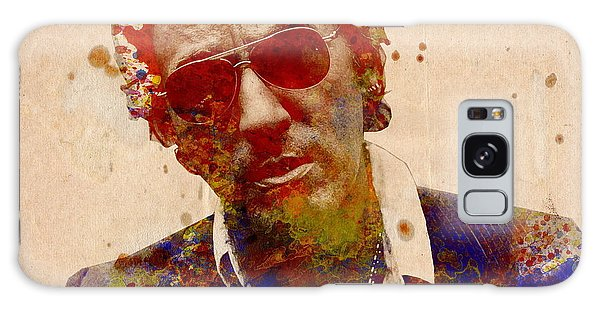 Bruce Springsteen Galaxy S8 Case - Bruce Springsteen by Bekim Art