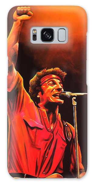 Rock And Roll Galaxy Case - Bruce Springsteen Painting by Paul Meijering