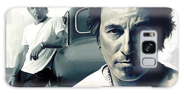 Bruce Springsteen The Boss Artwork 1 Galaxy Case by Sheraz A
