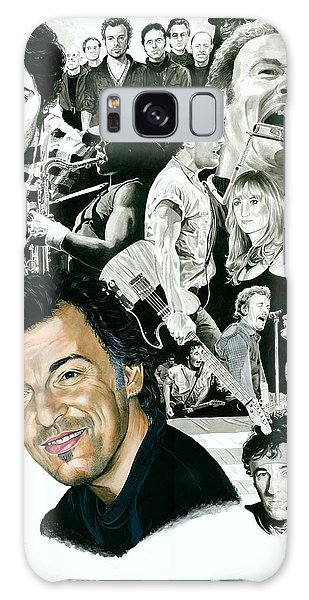 Bruce Springsteen Galaxy S8 Case - Bruce Springsteen Through The Years by Ken Branch