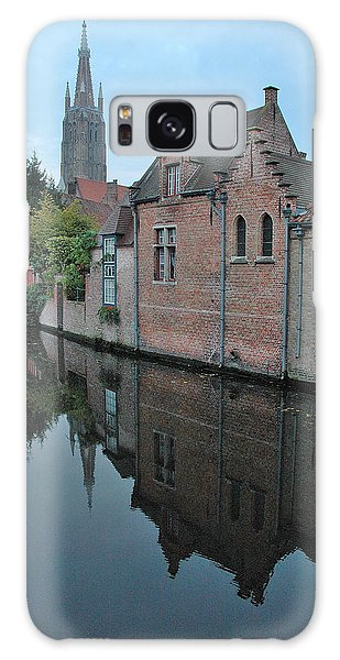 Bruges Canal Galaxy Case by Steven Richman