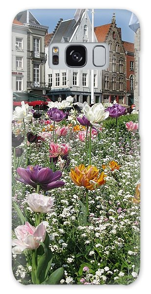 Galaxy Case featuring the photograph Brugge In Spring by Ausra Huntington nee Paulauskaite