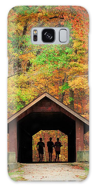 Brush Creek Covered Bridge Galaxy Case
