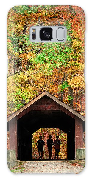 Brush Creek Covered Bridge Galaxy Case