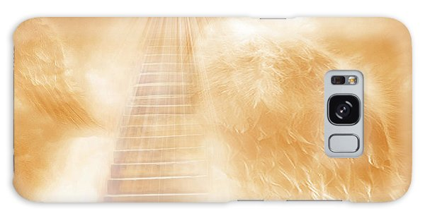Brush Of Angels Wings Galaxy Case