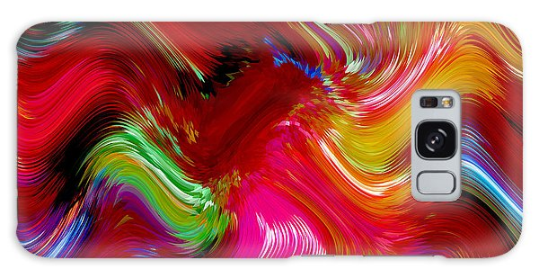 Brush Of Colour Vivid Galaxy Case
