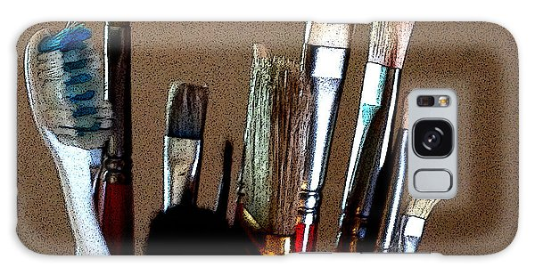 Brushes Galaxy Case