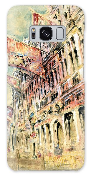 Brussels Grand Place - Watercolor Galaxy Case