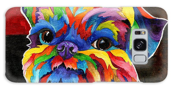 Brussels Griffon Galaxy Case