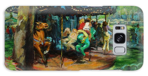 Bryant Park - The Carousel Galaxy Case