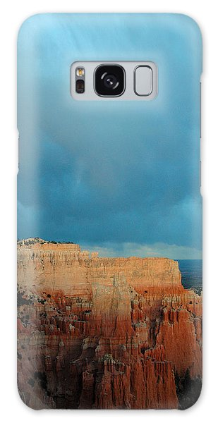 Bryce Canyon And Stormy Sky Galaxy Case