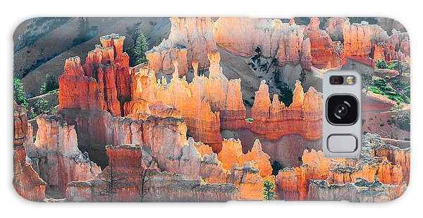 Bryce Canyon At Sunrise Galaxy Case