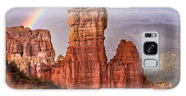 Bryce Canyon In Rain Galaxy Case