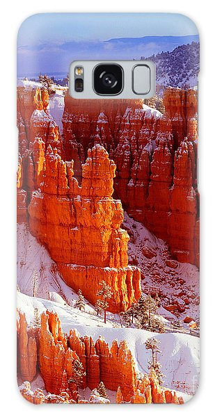 Bryce Canyon In Snow Galaxy Case