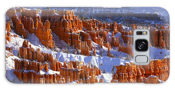 Bryce Canyon In Winter Galaxy Case