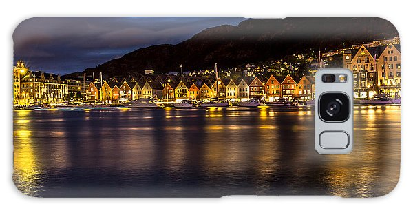 Bryggen At Dusk Galaxy Case