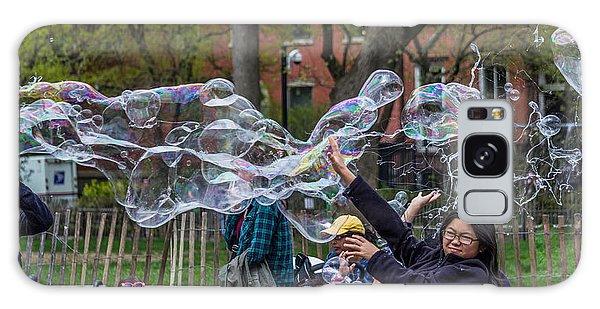Bubble Attack Galaxy Case