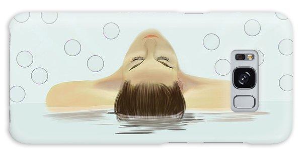 Bubble Bath Luxury Galaxy Case