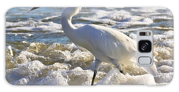 Bubbles Around Snowy Egret Galaxy Case
