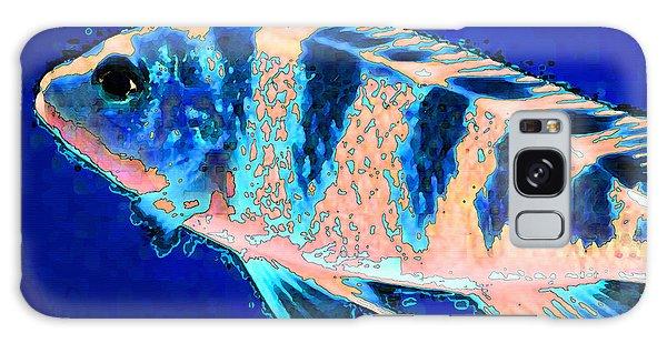 Scuba Diving Galaxy Case - Bubbles - Fish Art By Sharon Cummings by Sharon Cummings