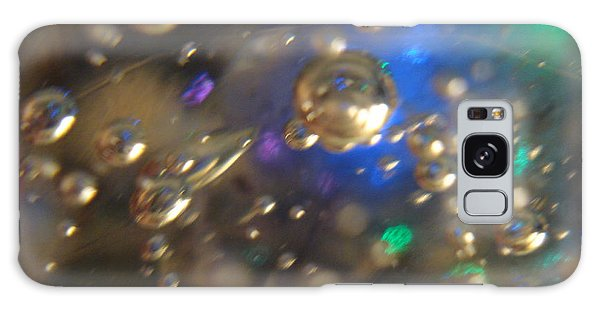 Bubbles Glass With Light Galaxy Case