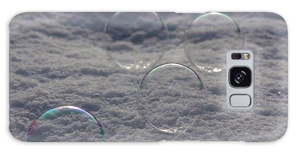 Bubbles In The Snow Galaxy Case