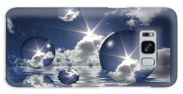 Bubbles In The Sun Galaxy Case