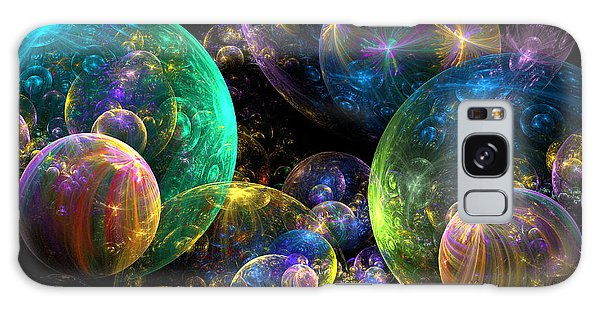 Fractal Galaxy Case - Bubbles Upon Bubbles by Peggi Wolfe
