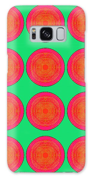 Bubbles Watermelon Warhol  By Robert R Galaxy Case