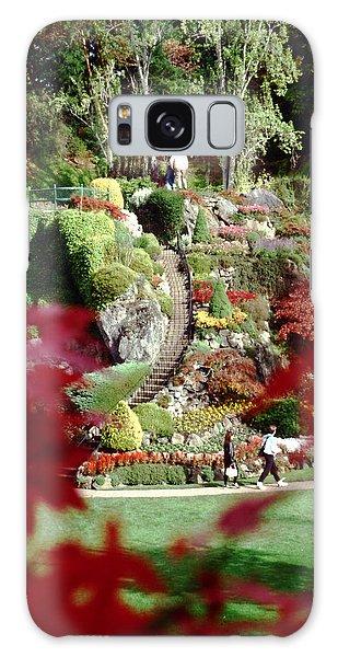 Buchart Gardens Galaxy Case