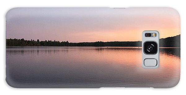 Buck Pond At Dusk Galaxy Case