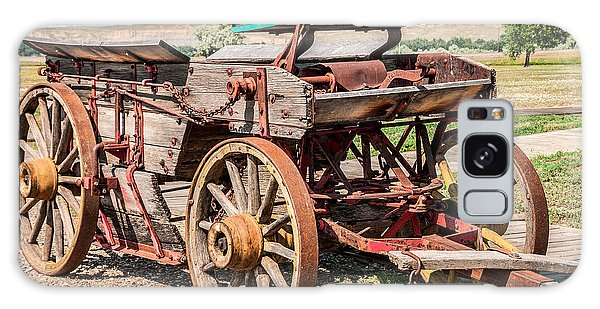 Buckboard Wagon Galaxy Case