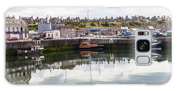 Buckie Harbour Galaxy Case