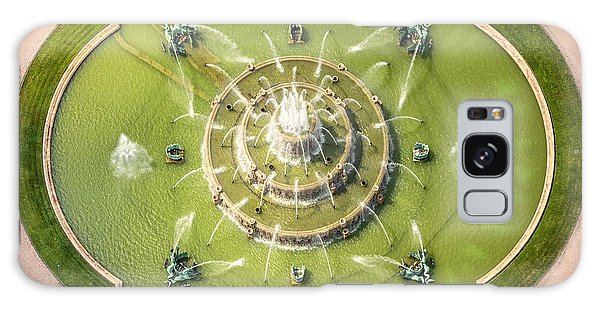 Chicago Art Galaxy Case - Buckingham Fountain From Above by Adam Romanowicz
