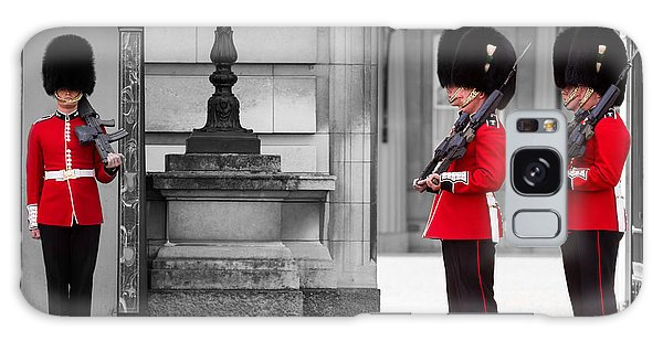 Buckingham Palace Guards Galaxy Case