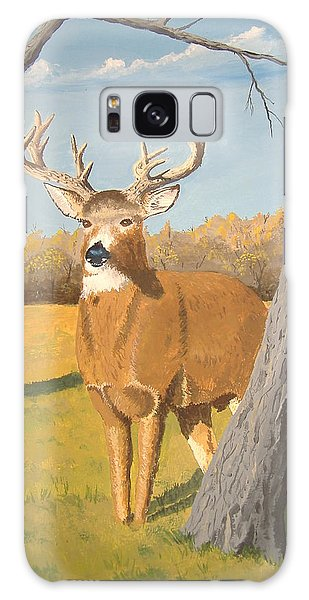 Bucky The Deer Galaxy Case