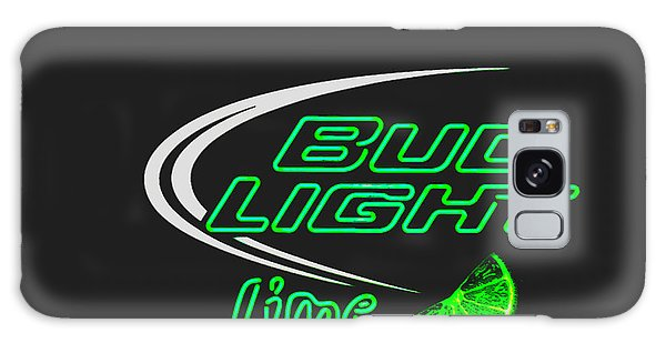 Bud Light Lime 2 Galaxy Case