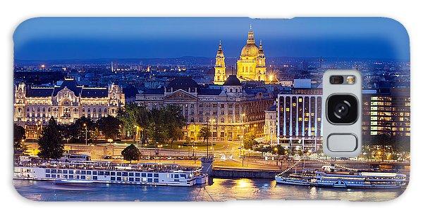 Budapest At Night Galaxy Case