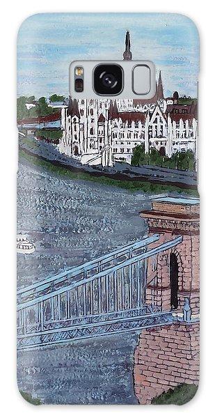 Budapest Bridge Galaxy Case