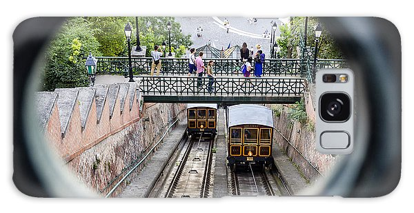 Budapest Castle Hill Funicular Galaxy Case